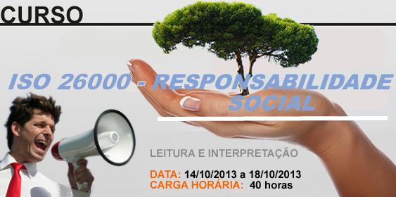 ISO 26000-RESPONSABILIDADE SOCIAL